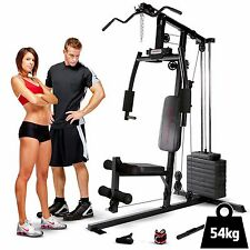 Marcy Club MKM-1101 Home Multi Gym 54kg Stack - Lat Pulldown, Chest Press, Row