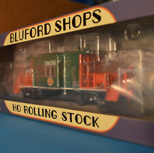 Bluford Shops 31180 HO Short Body Bay Window Transfer Caboose - Texas Mexico NEW