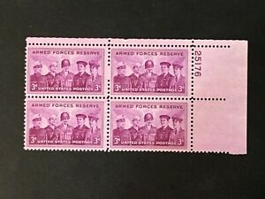 US # 1067; Armed Forces Reserve Issue; PL BK; Mint; NH; OG; ;All Perfs Intact;
