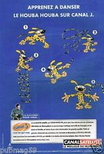 Publicité Advertising 2000 Canal Satellite avec Marsupilami sur Canal J