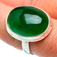 Green Aventurine 925 Sterling Silver Ring Size 8.5 Ana Co Jewelry R39107F