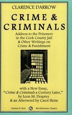 USED (LN) Crime & Criminals: Address To The Prisoners In The Cook County Jail &