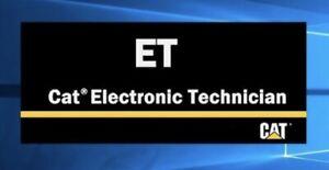 CATERPILLAR ELECTRONIC TECHNICIAN (CAT ET 2018C) + LIMITED BONUS!