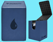 ULTRA PRO MTG MATTE BLUE ALCOVE MANA ISLAND FLIP DECK BOX Card Storage Case