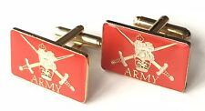 British Army Military Crested Cufflinks (N254) Gift Boxed