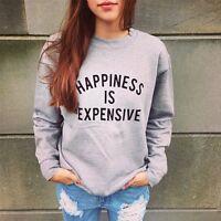 Loose Long Sleeve Womens Cardigan Knitted Sweater Jumper Knitwear Outwear Coat