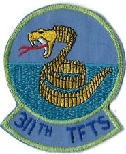 USAF 311th TACTICAL FIGHTER TRAINING SQUADRON PATCH