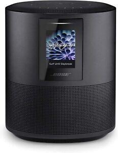 Bose Home Speaker 500 Built-In Amazon Alexa, Never Used, Black