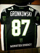 MONSTER GRONKOWSKI sports jersey RARE