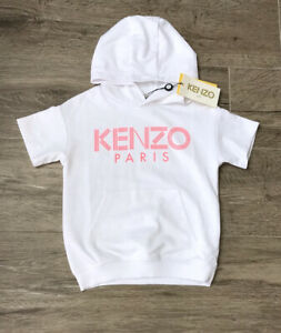 Kenzo Girls White Jumper Age 14 yrs BNWT