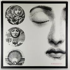 Vtg Piero Fornasetti Poster Designer of Dreams 1992 London Museum Exhibit 28in