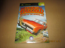 XBOX  THE DUKES OF HAZZARD  INSTRUCTION MANUAL ONLY