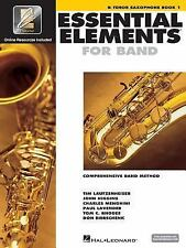 Essential Elements for Band Bk. 1 : Bb Tenor Saxophone With EEi Code