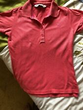 Crew Clothing Company. Ladies Light Coral Pink. Polo Shirt Size 10