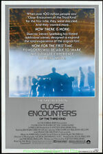 Close Encounters Of The Third Kind Movie Poster Original 27x40 Rolled R1980 Mint