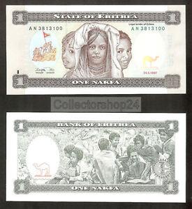 Eritrea 5 Nakfa 1997 Unc pn 2