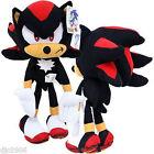 """Shadow Black Sonic the Hedgehog Large Plush 32"""" Plush Doll by Sega-New w/ Tags"""