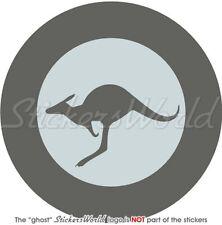 "AUSTRALIA Australian AirForce LowVis Roundel 4""(100mm) Bumper Sticker-Decal"