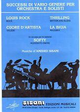 SC5 SPARTITO Louis Rock - Thrilling - La Bigia - Softy     Amedeo Sisani