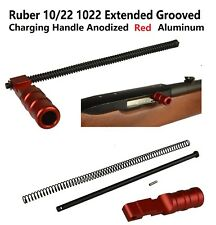 NEW Ruger 10//22 Spiral Fluted XL charging handle in BLUE