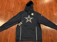 Nike Men's Dallas Cowboys Sideline Performance Hoodie Sweatshirt Large L NFL