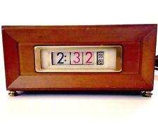 Vintage Eames Flip Clock NUMECHRON TYMETER Model 851 - 1971 Mid Century Retro