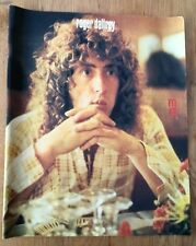 The WHO 'Roger in a check shirt'magazine PHOTO/Poster/clipping 12x10 inches