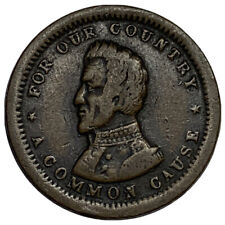 Andrew Jackson For Our Country A Common Cause Patriotic Civil War Token