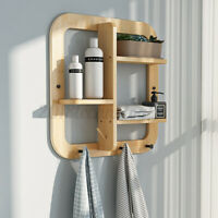 Floating Shelve Wall Mount Book Display Decor Shelf Rack for Home Office Kitchen