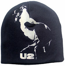 Oficial U2-traqueteo y el zumbido-negro beanie