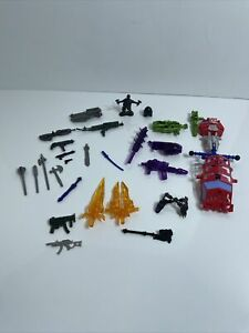 Lot Of Parts And Pieces Transformers, Spawn, Misc. Weapons 90s & 00s Optimus 🤖