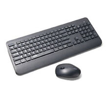 KM1 Wireless Keyboard and Mouse Combo Set w/ Single USB Dongle Connection