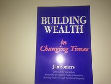Building Wealth In Changing Times Jan Somers Like NEW
