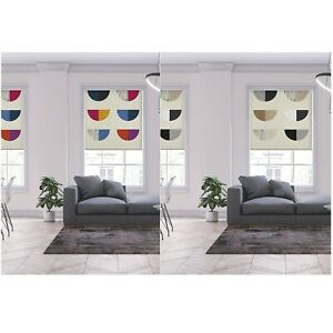 Lister Cartwright Blackout Roller Blinds Windows Child Safety Semicircle