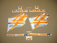 Hayabusa gsx1300r orange decals stickers graphics set kit aufkleber autocollant