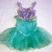 Disney Store ARIEL Princess Little Mermaid Dress Up Costume Girl Sz 2 Halloween