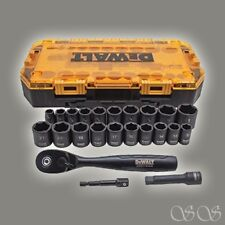"DEWALT Tough Box 23 PC 3/8"" Drive Impact Socket Set"