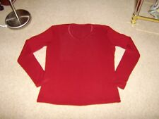 St Michael M & S, Ladies Long Sleeved Top, With Stretch, Size 12