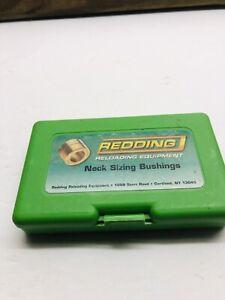 REDDING STEEL  NECK SIZING BUSHINGS LOT OF 10 NOS 76999