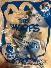 The Smurfs Panicky McDonald's Happy Meal Toy New in bag
