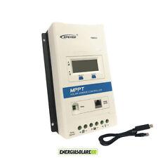 Regolatore di carica MPPT TRIRON4210N 40A 12V 24V DISPLAY RCS cavo USB