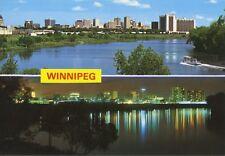 Winnipeg Manitoba MB Multiview Vintage Postcard D17