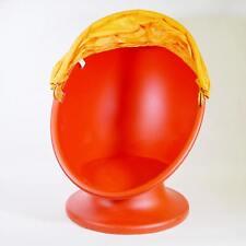 Poltroncina per Bambini Ikea - arancione  - ruota a 360° - divertentissima !