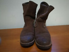 Red Wing Heritage 8189 Pecos Engineer Boot - original Cork Sole. SIze US 8 1/2