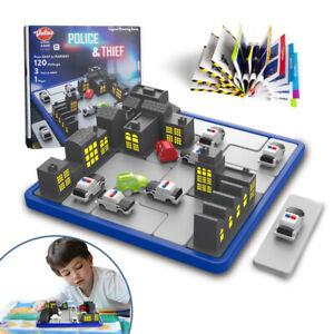 VATOS Smart Games IQ Logic Game for Kids Brain Teaser Police & Thief STEM