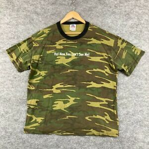 AAA Alstyle Apparel Vintage T-Shirt Size XL Camouflage Short Sleeve 199.19