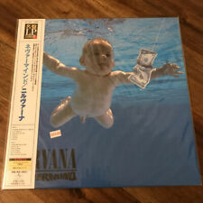 Nirvana ‎Nevermind UIJY-9009 Import OBI Japan LP, Reissue, 200 Gram LP100 Sealed