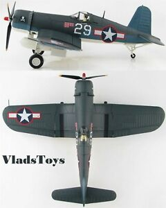 Hobby Master 1/48  F4U Corsair VF-17 Jolly Rogers, White 29 Ira Kepford HA8219
