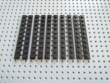 1370 Lego Platte 6x8 Schwarz 2 Stück