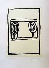 Pijuan Joan Hernandez Gravure originale signée abstraction art abstrait Espagne